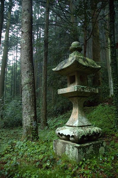 mountain shrine stone lantern