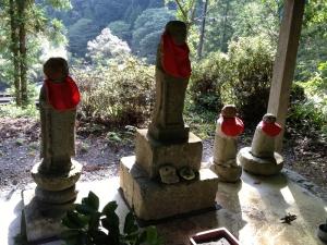 Japan mountain Jizo