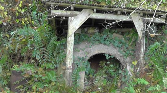 Abandoned Japanese kiln
