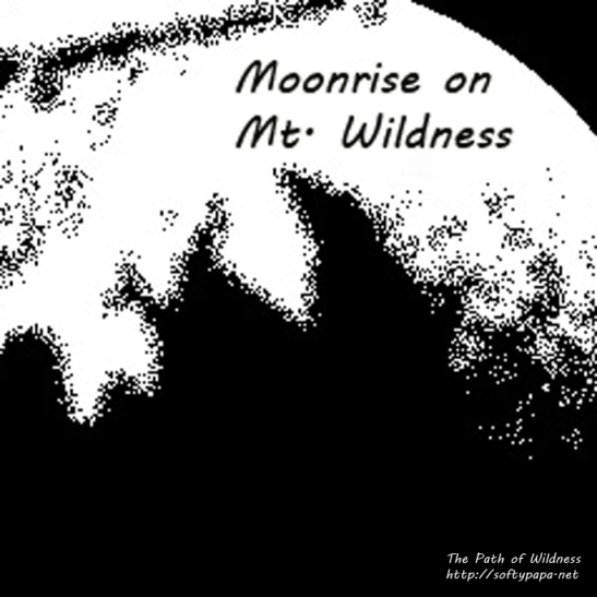 Moonrise on Mt. Wildness - The Path of Wildness