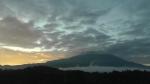 Asagiri morning fog on Japan Mt. Fujii