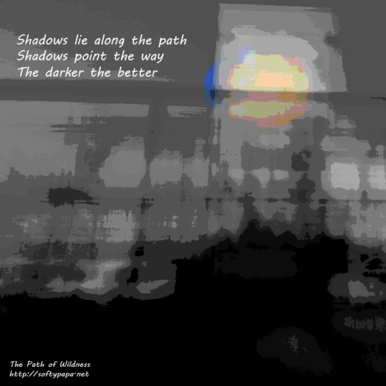 Shadows lie along the path - The Path of Wildness MEME