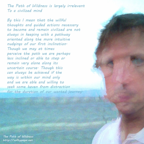 The Path of Wildness is largely irrelevant to a civilized mind - MEME