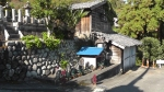 Japan village tableau - Walking in Japan