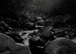 There are no bridges here Where streams are cold and fast - The Path of Wildness - MEME THUMBNAIL SQUARE