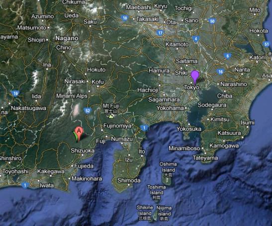 Wasabi farmers shack - softypapa MAP 01