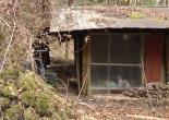 Deserted mountain farm hut - Abandoned Japan