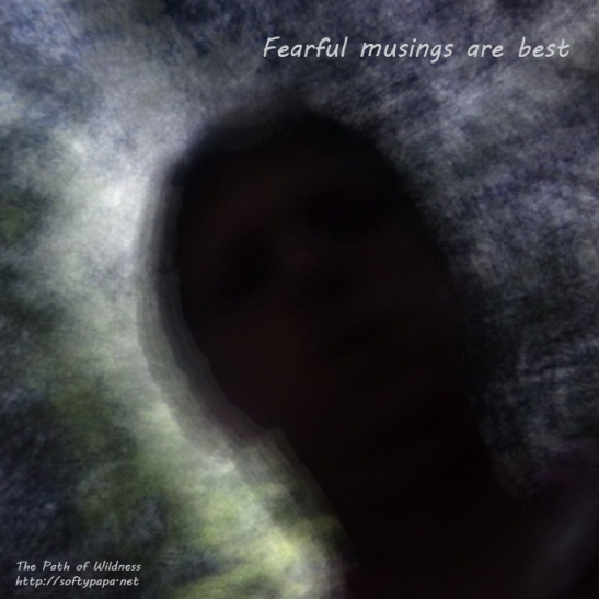Fearful musing are best - The Path of Wildness
