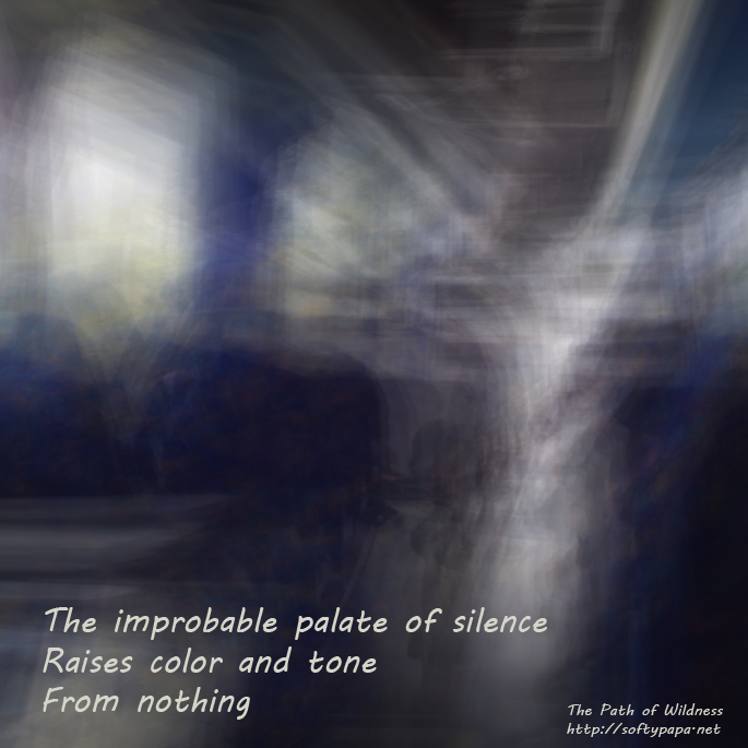 The improbable palate of silence