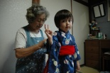 Emily and her grandmother Suzuki