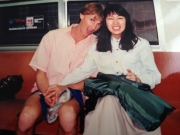 Yumiko and Kurt preparing to move to America in 1992