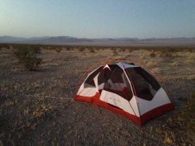 Route 66 camp at Siberia California