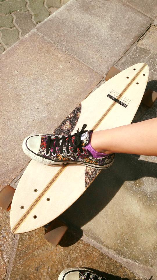 Emilys skateboard