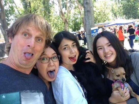 Family with Kelly Ko